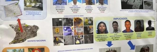 Envían a la cárcel al ¨Compa¨, otro implicado en el cuádruple asesinato en el sector Evaristo Morales