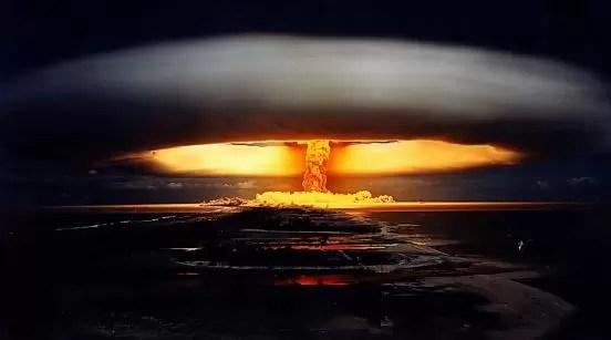 bomba nuclear