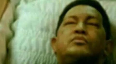 Circula foto de Hugo Chávez muerto