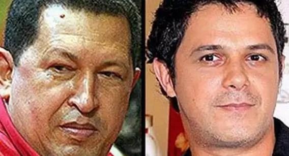 """El largo """"Boche"""" que le dio Hugo Chávez a Alejando Sanz en Twitter"""