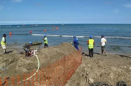 Claro inicia en Puerto Plata conexión de Cable Submarino de Fibra Óptica de más de 17 mil kilómetros