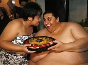 obeso comida