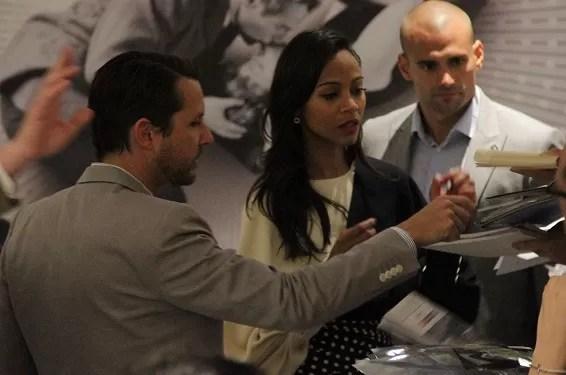 Muy criticada en Cannes la película Blodd Ties, con Zoé Saldaña
