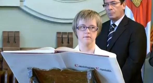 Por primera vez, una mujer con síndrome de Down llega a la política