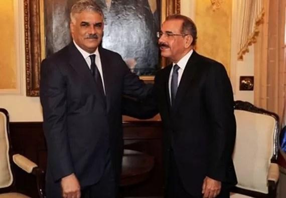 Danilo Medina y Miguel Vargas anunciarán el  lunes acuerdos  PRD-PLD 2016