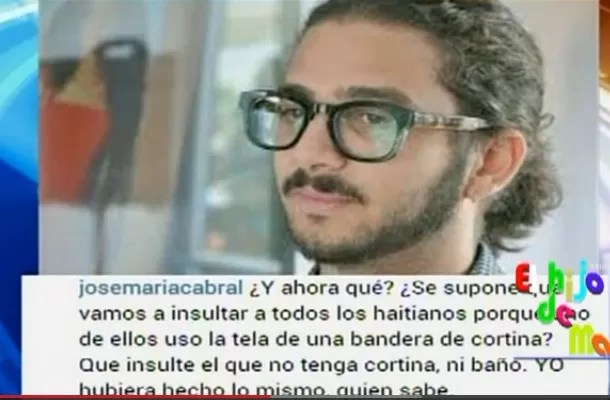 Ramón Pastrano le entra a José María Cabral (video)