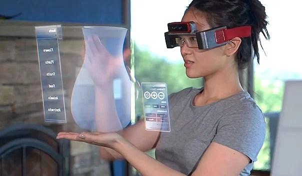 SpaceGlasses lo que Google Glass debería haber sido (Video)