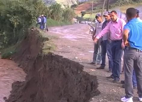 Lluvias afectan agricultura y comunidades en Constanza (video)