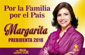 Promueven a Margarita a la Presidencia (Con Ella Seguimos con El)