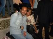 Alberto Zayas y su esposa