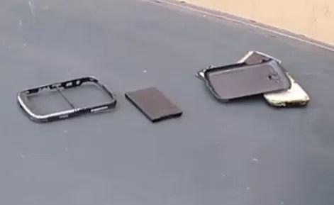 Video: El Sujeto le rompe el celular a un periodista