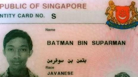 Batman bin Suparman, una celebridad arrestada