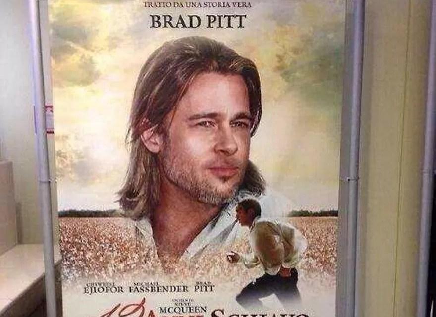 Polémica en Italia por póster con Brad Pitt
