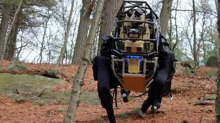 Google compró una empresa que fabrica robots militares