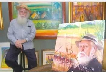 Falleció el pintor dominicano Guillo Pérez