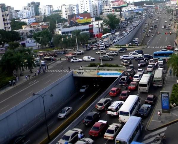 Ciudad Santo Domingo tunel