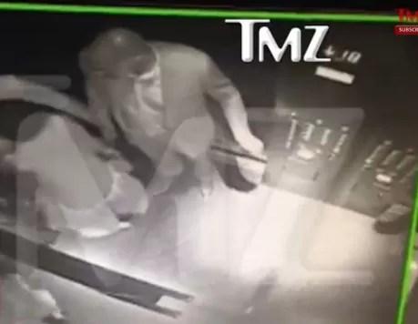 Hermana de Beyonce golpea furiosamente a su cuñado Jay-Z en un ascensor