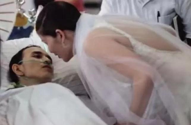 Historia que te hará llorar: murió 10 horas después de casarse