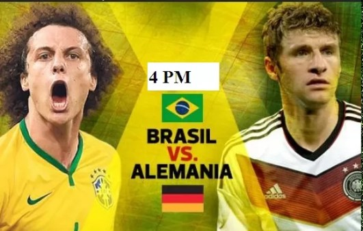 Brasil vs Alemania