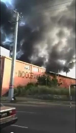 Fuego en la Duarte