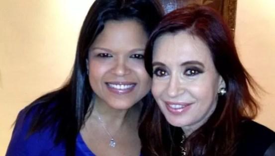Maria Gabriela Chavez y Cristina Fernandez