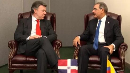 Juan Manuel Santos y Danilo