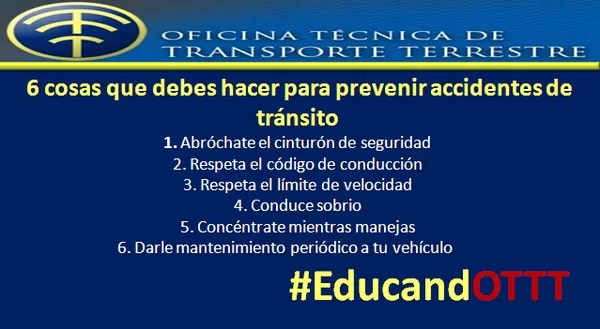 Prevenir accidentes
