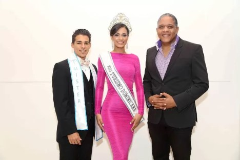 Alan Batista, Gabriela Padilla y Juan Carlos Ditren