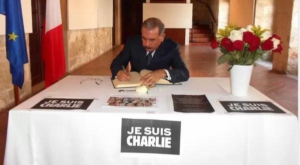 Danilo Medina Je suis Charlie