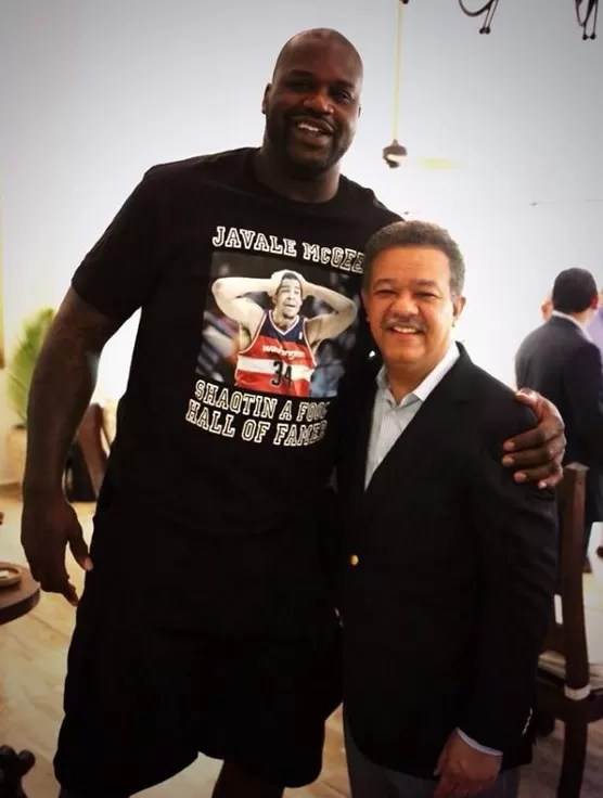 Shaquille O' Neal y Leonel