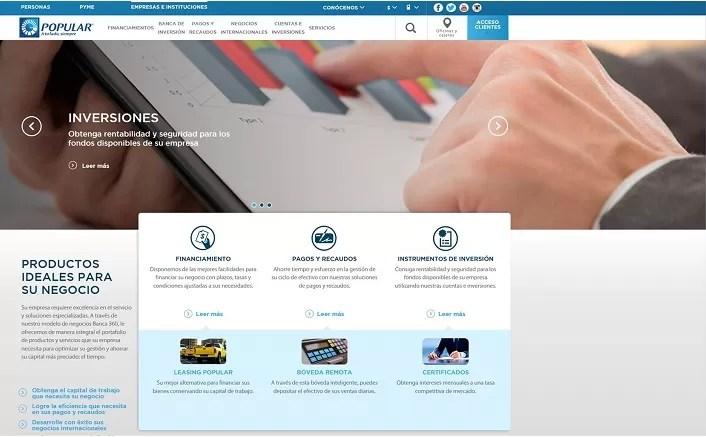 Popularenlinea.com renueva su diseño con importantes cambios