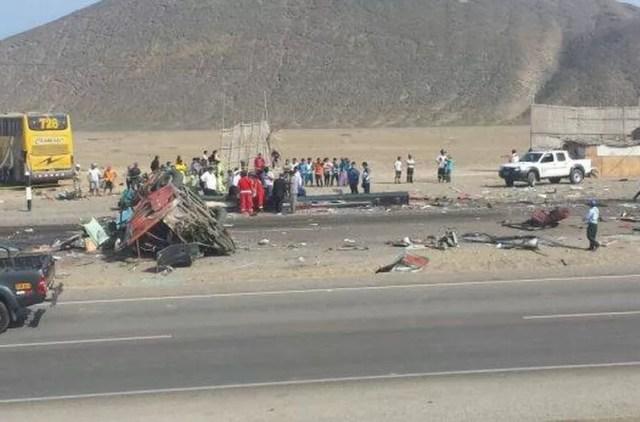 37 muertos en Peru