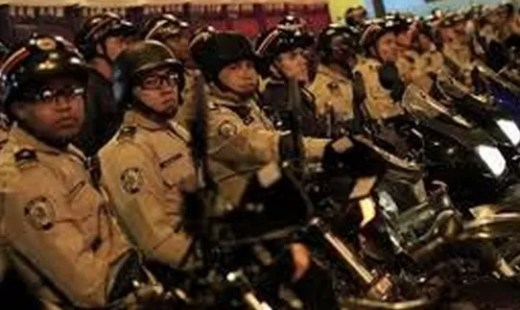 Policias Venezolanos