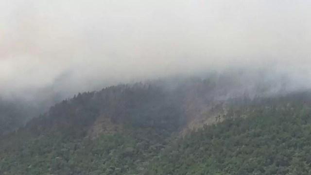 incendio en Loma Miranda