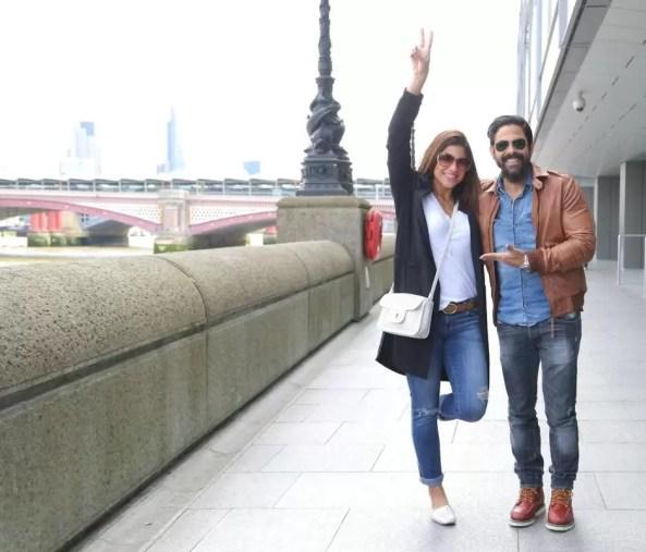Anier y Panky en Londres