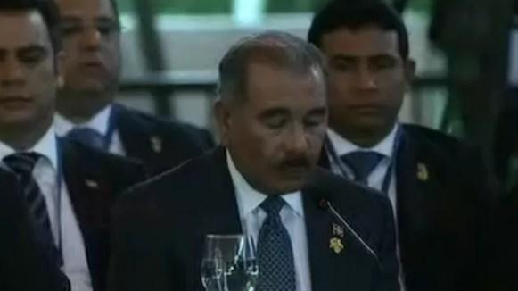 Danilo Medina en la SICA