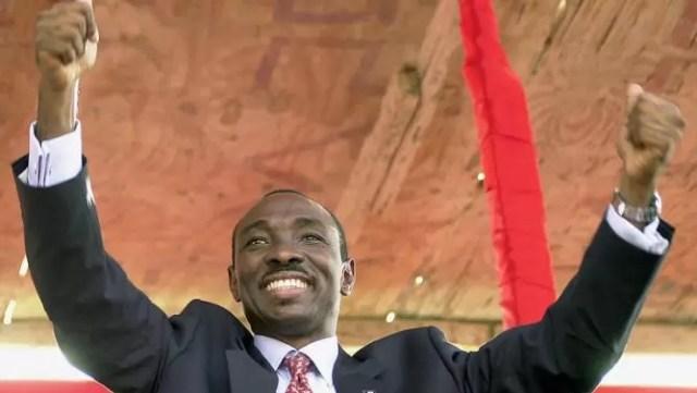 El primer ministro haitiano, Evans Paul.