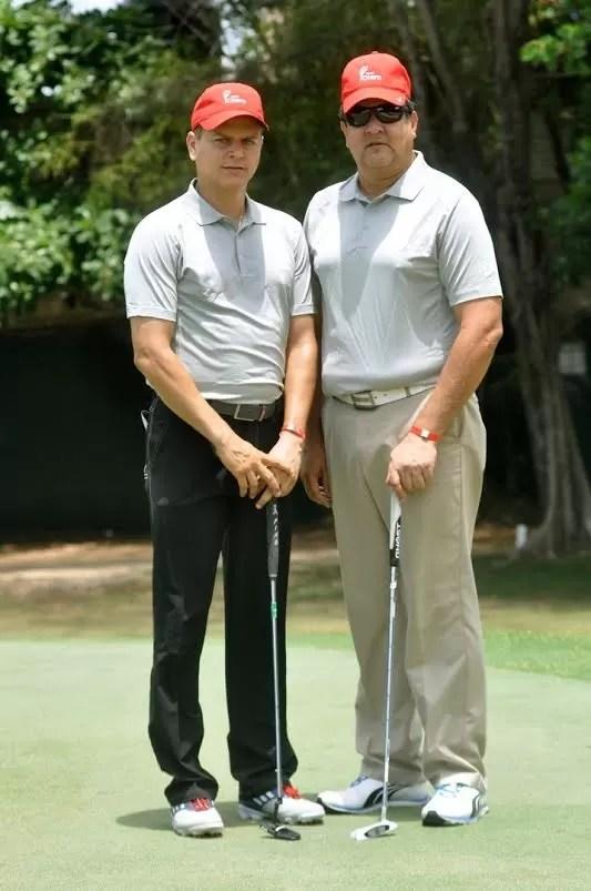 Roy Galvan padre y Roy Galvan jr ganadores del primer lugar Gross