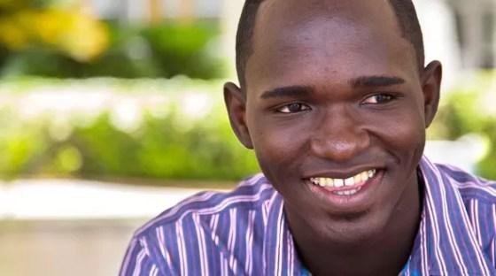 Estudiante haitiano