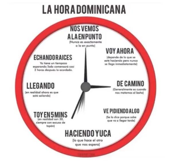 La hora domiicana