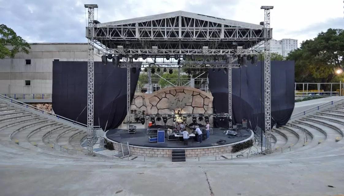 El Anfiteatro Nuryn Sanlley seguirá acogiendo espectáculos artísticos