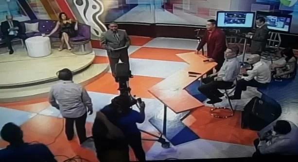 Aridio Castillo reaparece en el Show del Mediodía