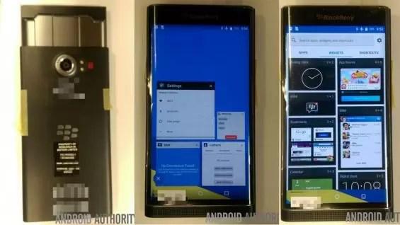Nuevas imágenes del nuevo BlackBerry Venice, que viene con Android