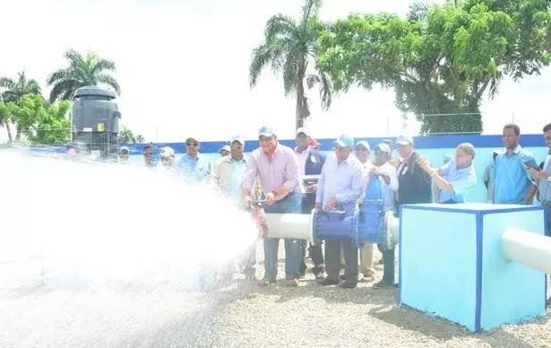 Nuevos pozos aportan 27.4 millones de galones agua diarios a Santo Domingo Este
