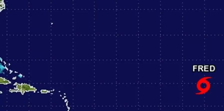 Tormenta Fred terminaría como depresión tropical
