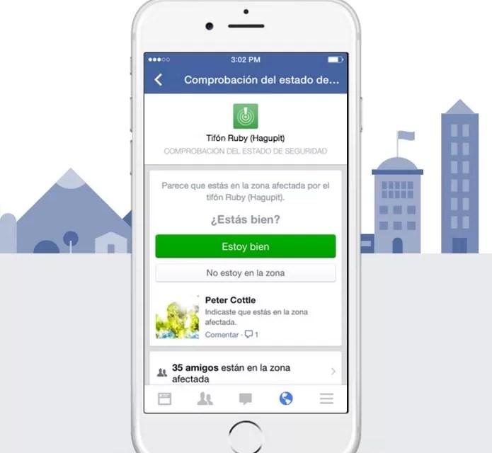 Facebook lanza herramienta para los afectados en el terremoto de Chile