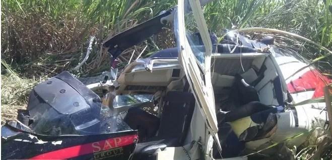 Video: Helicóptero cae Villa Duarte y atracan al piloto