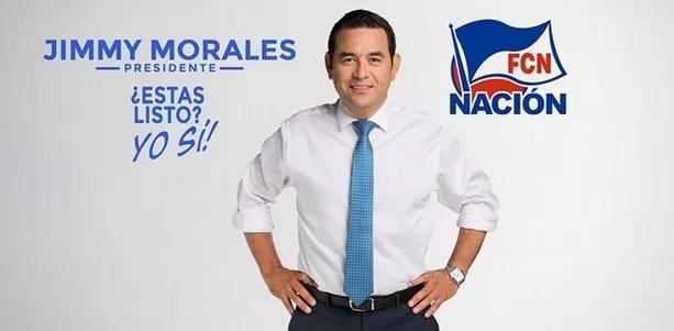 Un comediante encabeza intención de voto para presidente en Guatemala