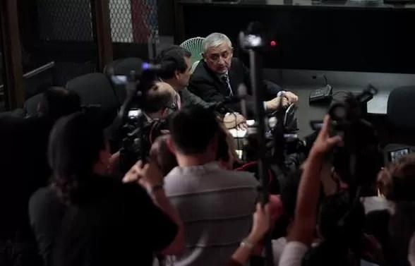 Expresidente guatemalteco Otto  Pérez a prisión preventiva por corrupción