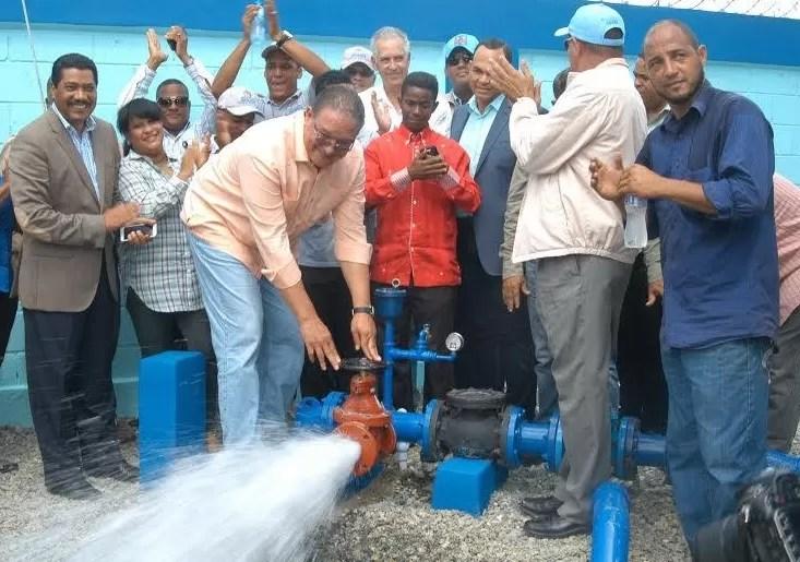 La CAASD pone en funcionamiento once pozos en Santo Domingo Norte